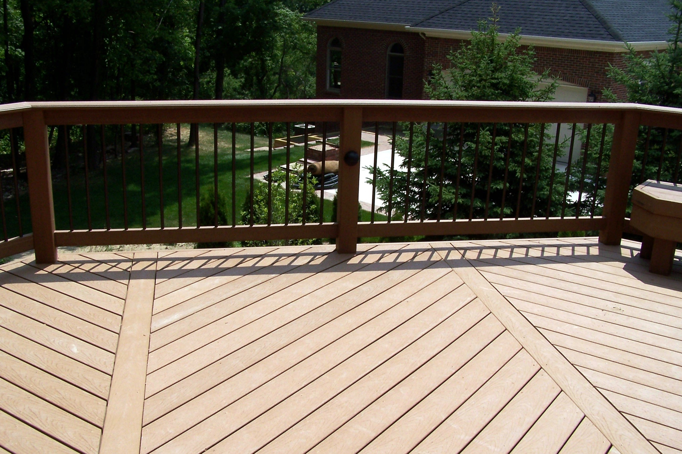 southeastern michigan deck lighting deck railings photo. Black Bedroom Furniture Sets. Home Design Ideas