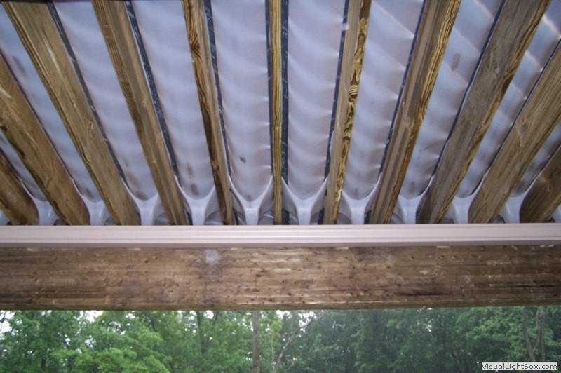 Southeastern Michigan Under Deck Drainage System